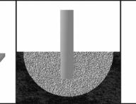 Варианты ножек барьеров - под анкера, бетонирование, передвижные
